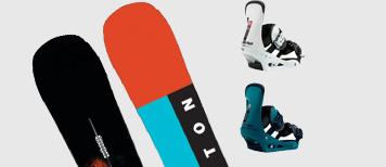 Pack de snowboard Burton