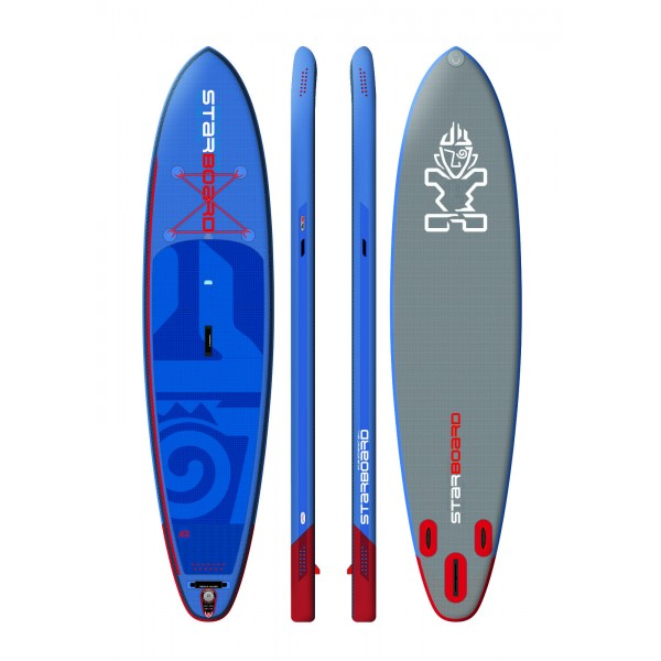 "Starboard Hinchable All Round Atlas Deluxe 12´ x 33"" pack completo paddle surf"
