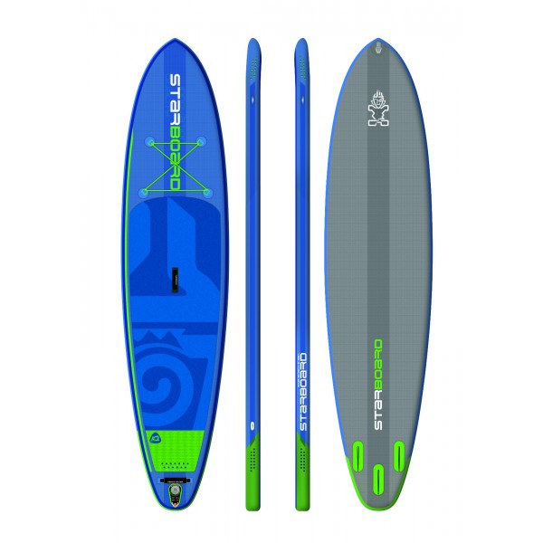 """Starboard Hinchable All Round Atlas Zen 12´ x 33"""" pack completo paddle surf"""