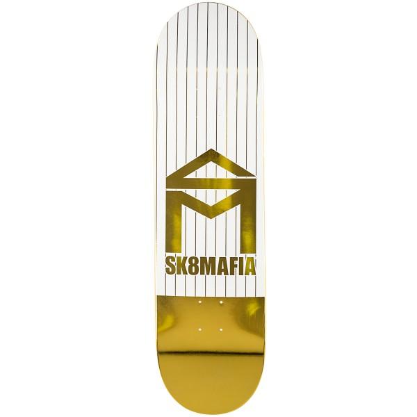 Sk8mafia House logo Pinstripe foil 8.5 Tabla de skate