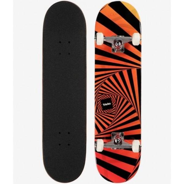 Tricks psychedellic 8.0'' Skateboard completo