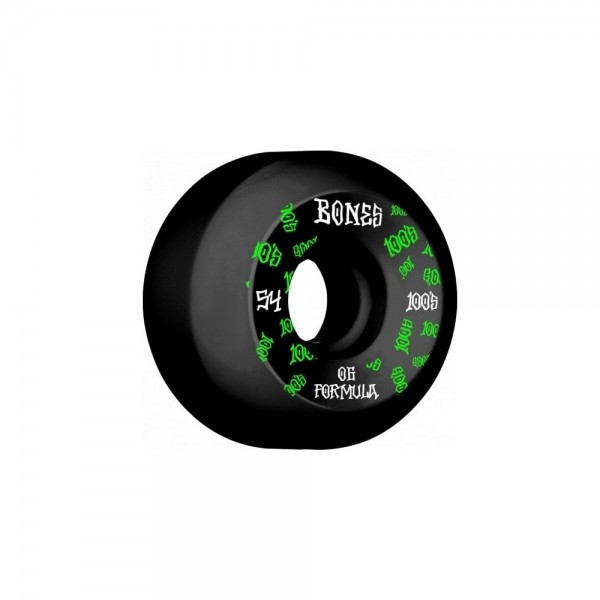 Bones 100´s #11 V5 54mm black Ruedas de skateboard