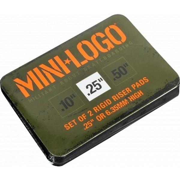 "Alzas Mini-logo riser rigid ""3"" 25"" alzas skate"