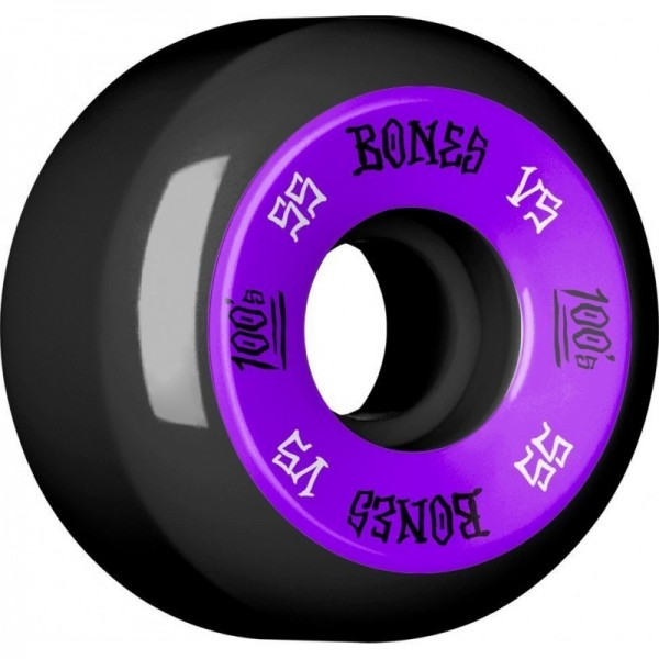Bones 100´s #11 V5 55mm black Ruedas de skateboard