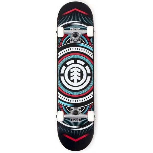 """Element Hatched Blue 7,75"""" Skateboard completo"""