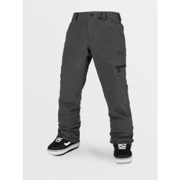 Volcom Stretch gore-tex dark grey 2021 pantalón de snowboard