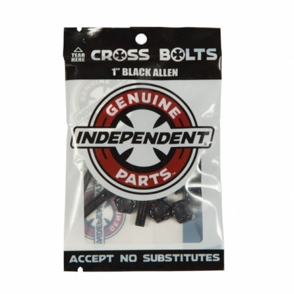 "Independent Genuine Parts Allen 1"" pack tornillos y tuercas"