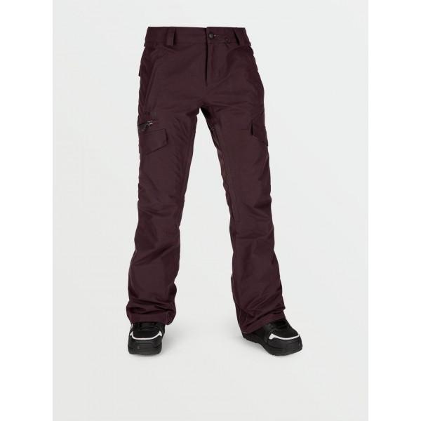 Volcom Aston Gore-tex black red 2021 pantalon de snowboard de mujer