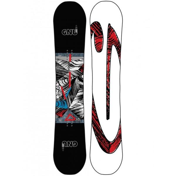 GNU Asym Carbon Credit BTX 2020 tabla de snowboard
