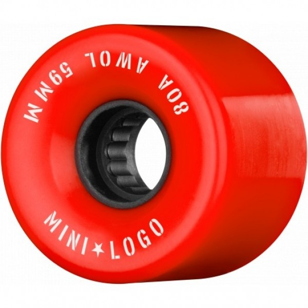 Mini logo AWOL 59mm 80A red Ruedas de skateboard