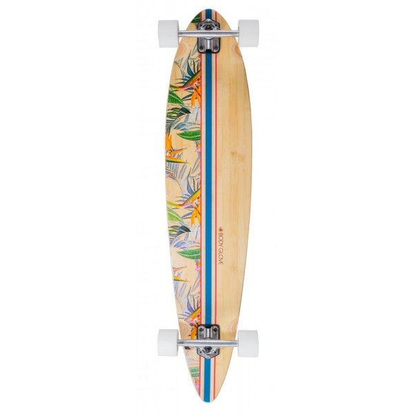"""Body Glove Bamboo Pintail 9,75"""" longboard  completo"""