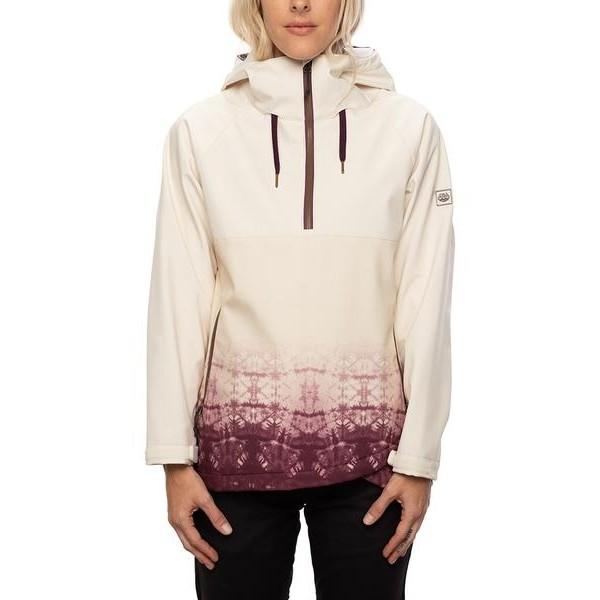686 Waterproof Anorak birch 2021 chaqueta de snowboard de mujer