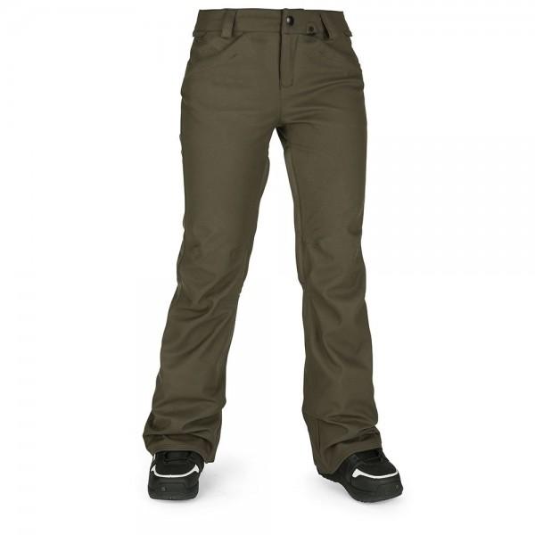 Volcom Species Stretch black military 2021 pantalon de snowboard de mujer