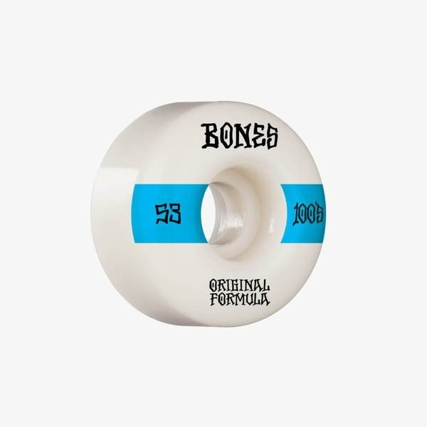Bones 100´s #14 V4 53mm white Ruedas de skateboard