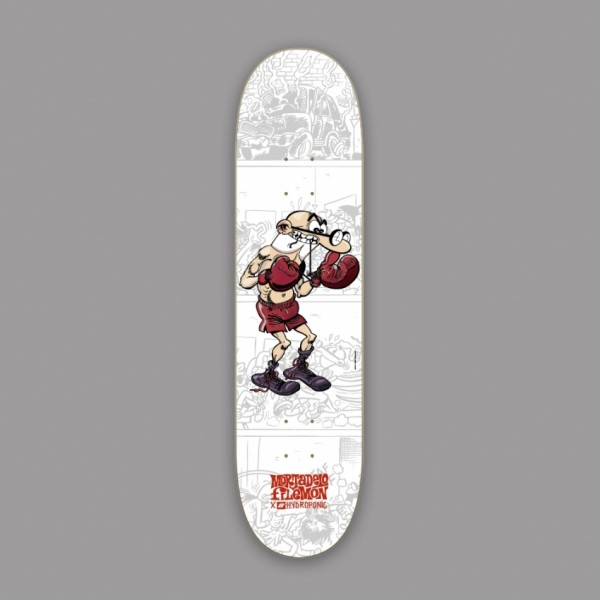 Hydroponic Mortadelo y Filemón Boxer 8,0'' tabla de skate