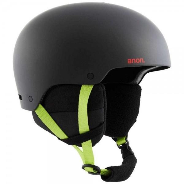 Anon Raider black pop 2021 casco de snowboard-M