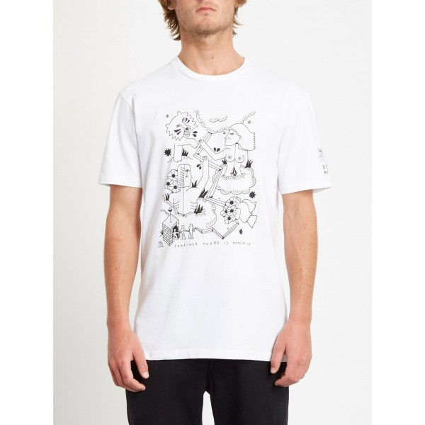 Volcom Brian white 2021 camiseta