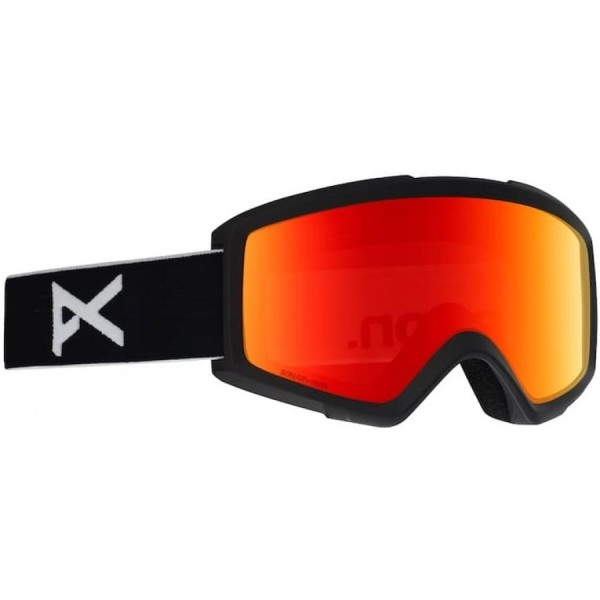 Anon Helix Black / sonar red 2020 gafas de snowboard