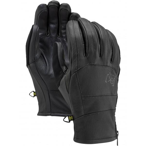 Burton Ak leather tech black 2021 guantes de snowboard