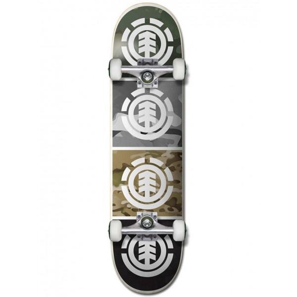 """Element Camo quadrant 8"""" skateboard completo"""