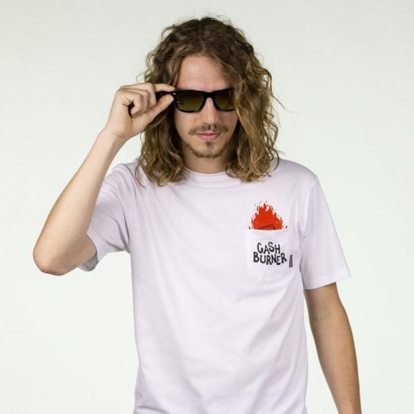 Hydroponic Cash Burner white 2020 camiseta