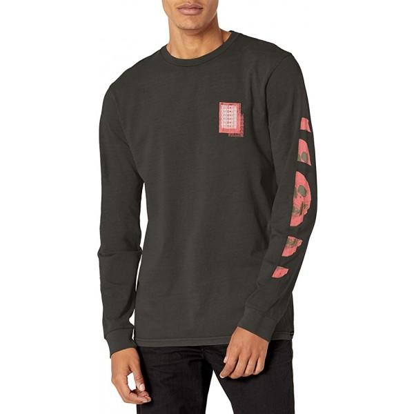Volcom Concussion black 2021 camiseta de manga larga