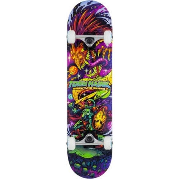 "Tony Hawk 360 Cosmic 7,75"" skateboard completo"