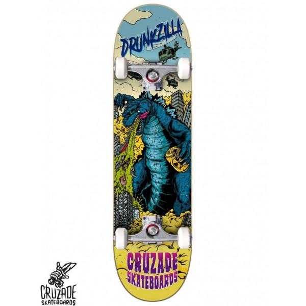 Cruzade Drunkzilla 8.25'' Skateboard completo