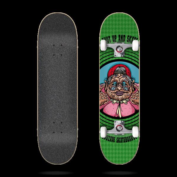 Cruzade Shut up and Skate 8.0'' Skate completo