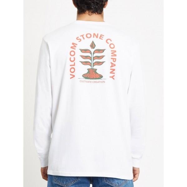 Volcom Culturevate white 2021 camiseta de manga larga