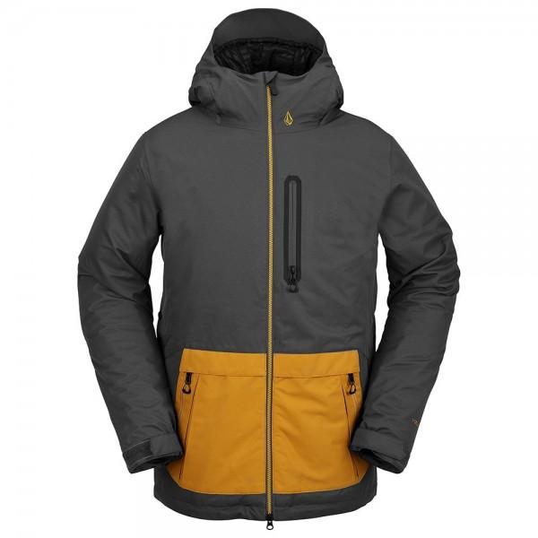 Volcom Deadly stones insulated dark grey 2021 chaqueta de snowboard