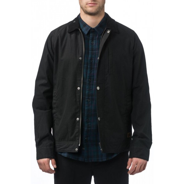 Globe X Drizabone black 2018 chaqueta