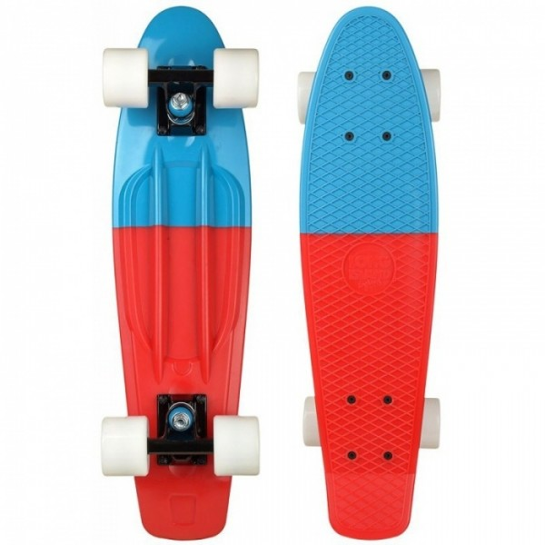 """Long Island All Over Buddie duo red 22"""" cruiser completo"""
