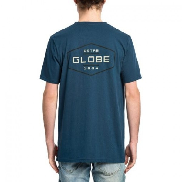 Globe Established jet ink 2021 camiseta