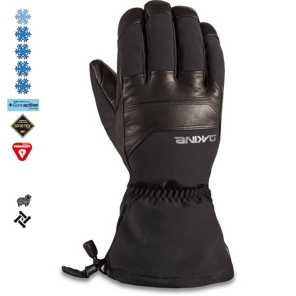 Dakine Excursión black 2021 guantes de snowboard