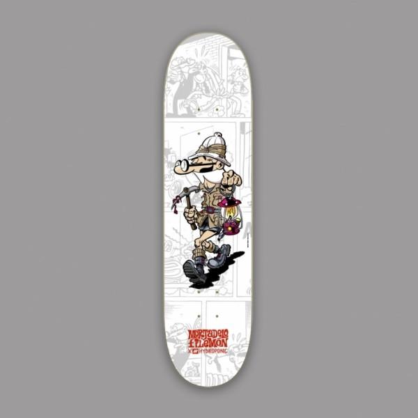 Hydroponic Mortadelo y Filemón Explorer 8,125'' tabla de skate