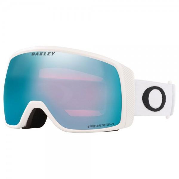 Oakley Flight Tracker XS matte white prizm sapphire 2021 gafas de snowboard
