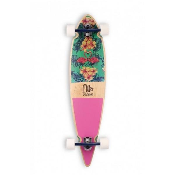 "Miller Flamingo 40"" longboard completo"
