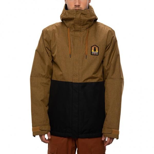686 Foundation insulated golden brown 2021 chaqueta de snowboard