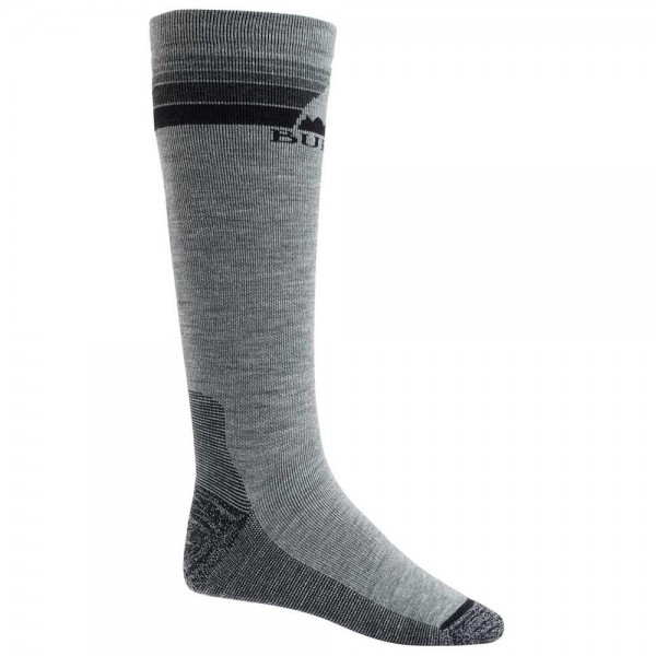 Burton Emblem grey heather 2021 calcetines de snowboard-M