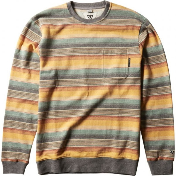 Vissla Joyride  pocket golden hour heather 2021 sudadera