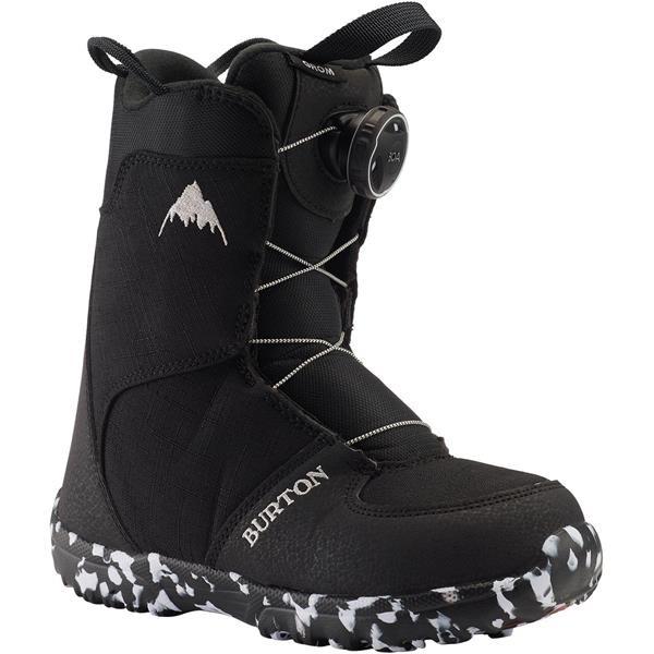 Burton Grom Boa Black 2020 Botas de Snowboard de niño