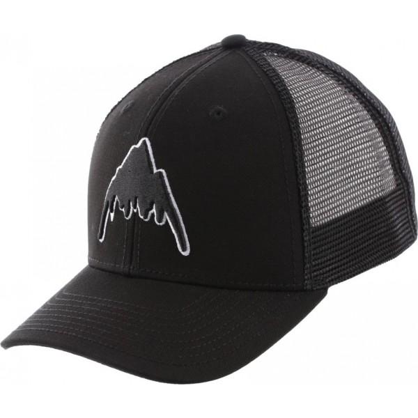 Burton Hardwood black 2020 gorra