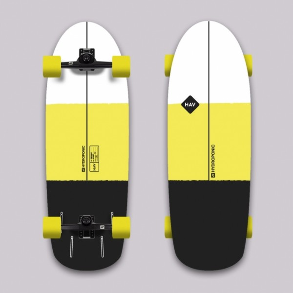 Hydroponic Hav surfboard surfskate completo