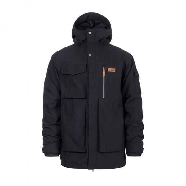 Horsefeathers Herald black 2020 chaqueta de snowboard