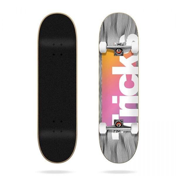 Tricks Pattern 7.87'' Skateboard completo