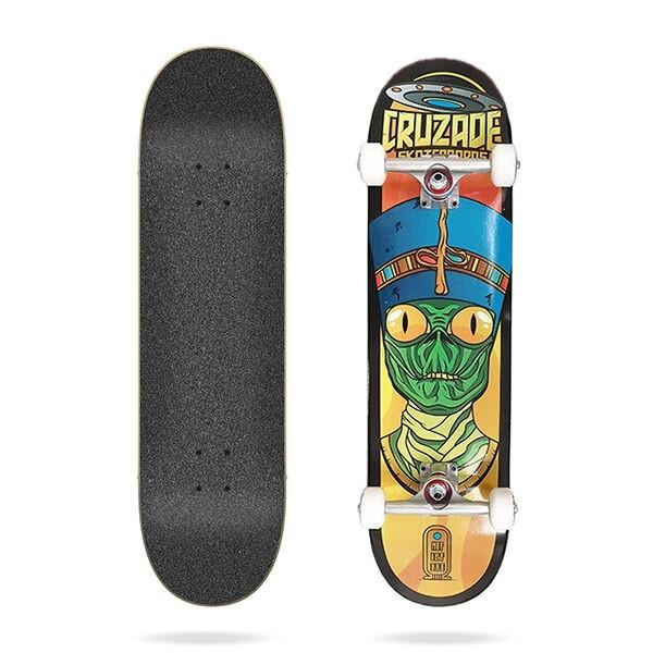 Cruzade Conspiracy Nefertiti 8'' Skateboard completo