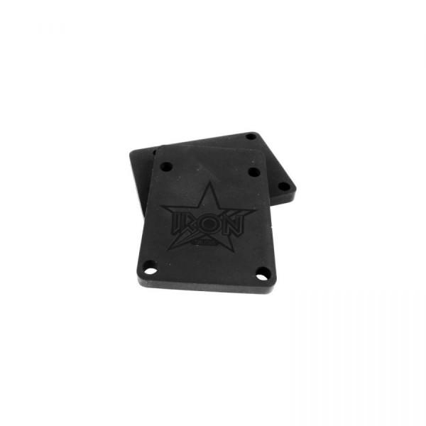 Iron riser pad pack 600 70A 74x53 black accesorio de skate