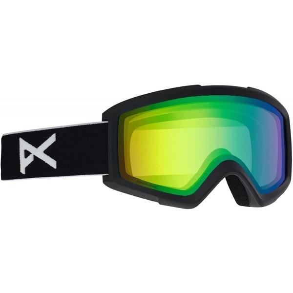 Anon Helix Black / sonar green 2020 gafas de snowboard