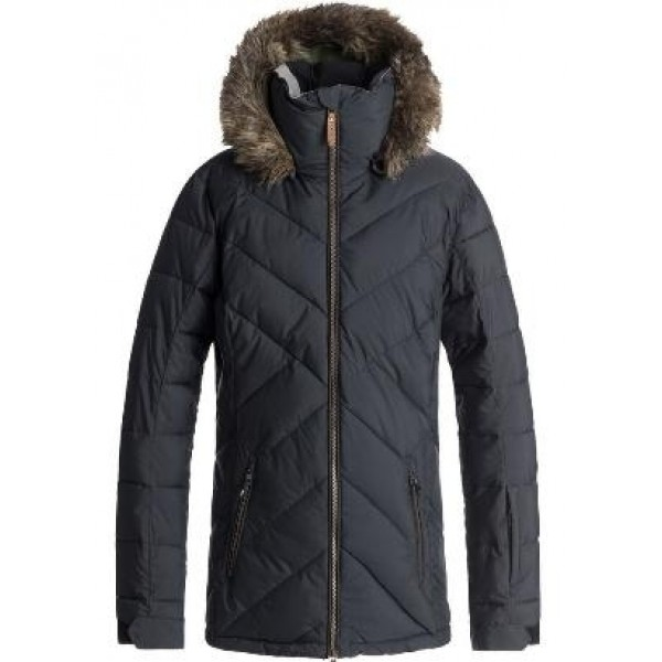 Roxy Quinn kvj true black 2020 chaqueta de snowboard de mujer